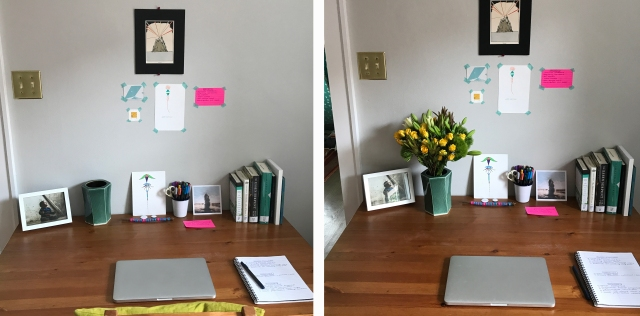 Before-vs-after flowers